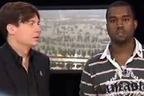 mike myers kanye mike myers was super proud standing next to kanye west