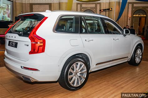 volvo xc90 price malaysia volvo xc90 t8 engine ckd launched in malaysia rm403