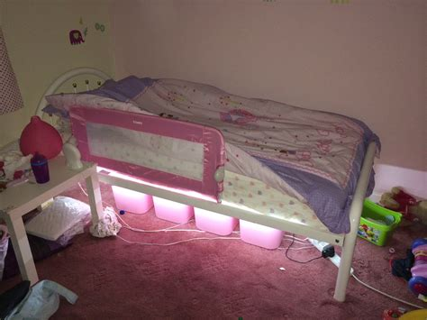 in daddys bed daddy diy led bed stuff daddies do
