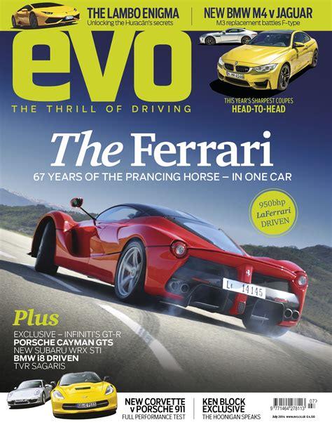 Auto Inserieren by Evo Magazine July 2014 Laferrari Review Evo