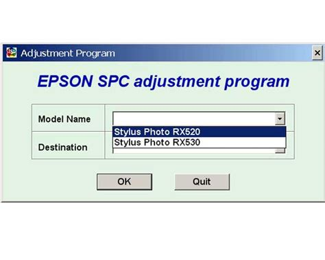 cx4300 reset software gatewayloadfre epson rx520 rx530 service adjustment program service