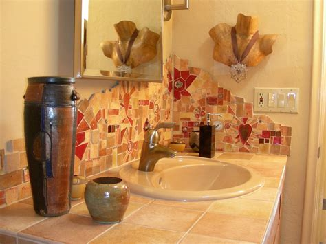 mosaic tile bathroom backsplash iqlacrosse home design ideas custom made made