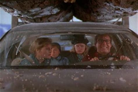 griswold christmas tree on the car temptation