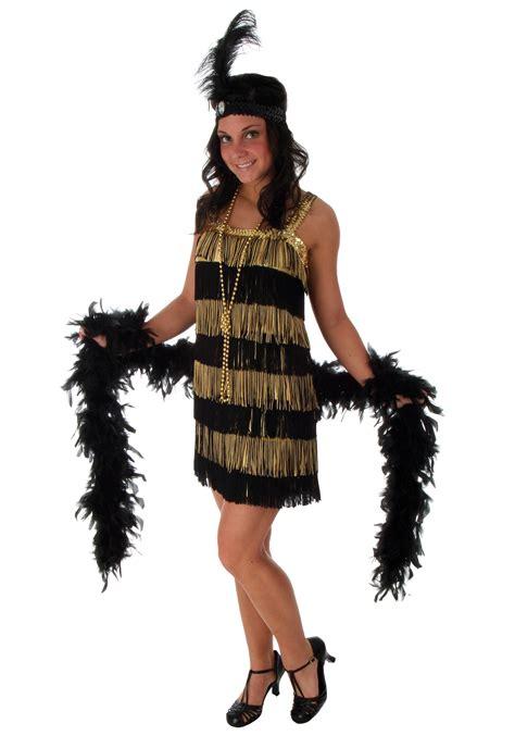 costume flapper flapper roaring costume ideas 1920s era costumes plus size fringe gold flapper costume