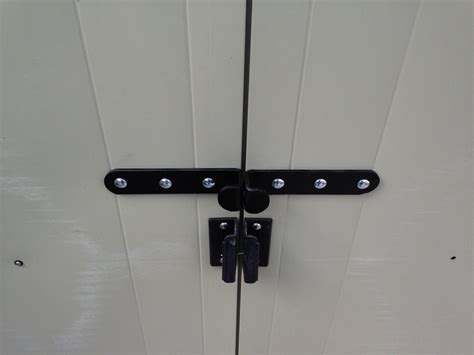 Shed Lock Types by Shed Lock Hasp Brackets Garage Door Security Heavy Duty