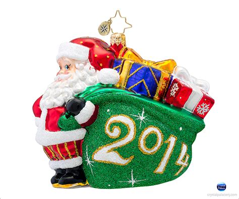 a jolly year radko ornament