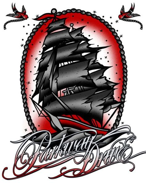 parkway tattoo parkway drive is really influential in my make my