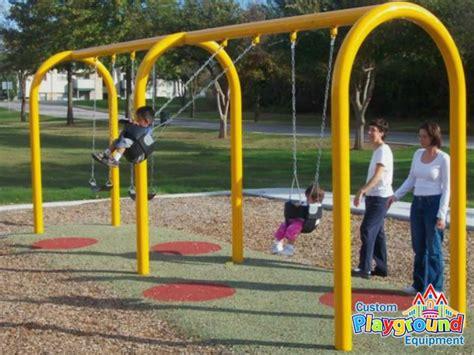 playground swing parts commercial belt swing seats swings belt swing