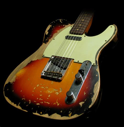 Gitar Fender Telecaster 16 the of aging guitars how to achieve the road worn look wood finishes direct