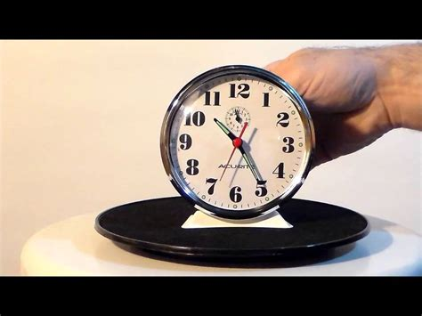 acurite  vintage extra loud wind  alarm clock youtube