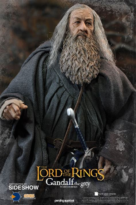 Lord Of The Ring Gandalf the hobbit gandalf the grey sixth scale figure by asmus