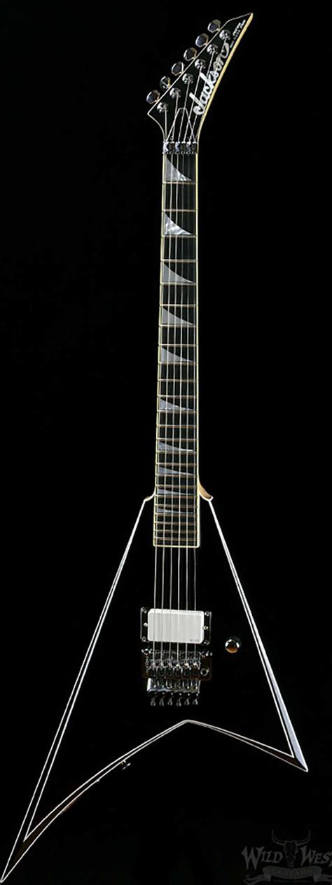 Gitar Jackson V Rr Black jackson custom shop randy rhoads rr1 black with white