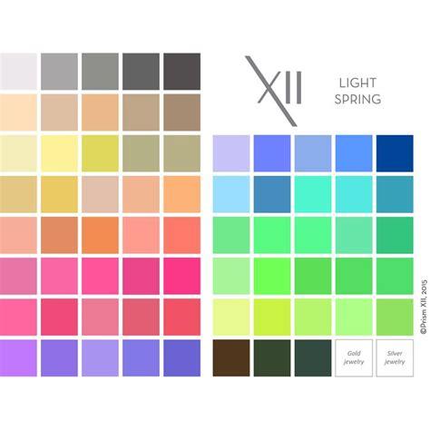 season colors 29 best 12 seasons light images on