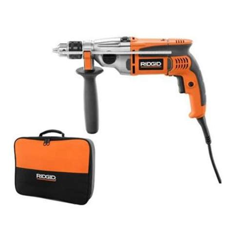 ridgid 1 2 in heavy duty hammer drill r50111 the home depot