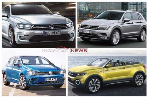 volkswagen new cars in india new upcoming volkswagen cars in india in 2017 2018 icn