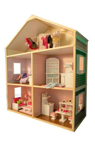 amazon doll house my girl s dollhouse 18 inch dolls country french style doll house furniture set ebay