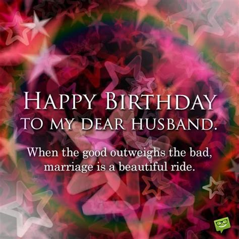 special message to my husband wishing happy birthday to my husband