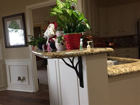 Sweet Small Kitchen Island Design With Glossy Granite