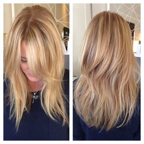 best layer haircut in san diego balayage hand painted san diego balayage razor cut