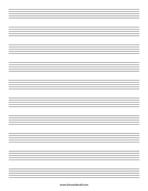 free printable staff paper pdf blank music staff paper pdf 6 10 12 stave sheet music