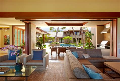 tropical living rooms ka apuni beach estate tropical living room hawaii