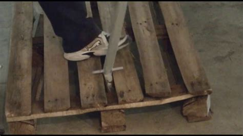 riciclo pedane piede di porco fai da te per riciclo pallet pedane bancali