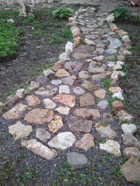 rock pathway ideas 17 best ideas about rock path on rock walkway