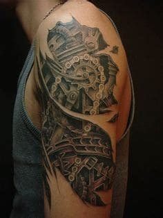 biomechanical tattoo 54
