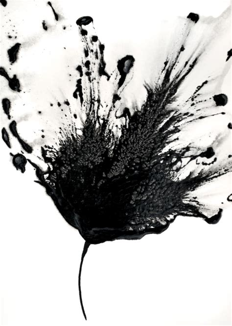 painting in black and white a bold palette