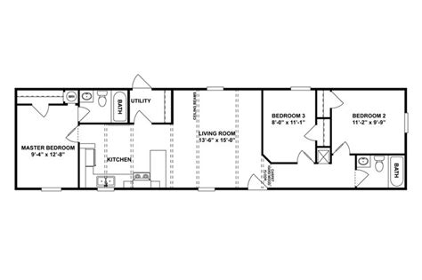 modular home floor plans virginia floorplan si 60 46spd16603ah oakwood homes of