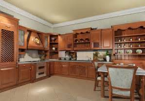 Wood Kitchen Furniture Modern Solid Wood Kitchen Cabiets Designs Photos An Interior Design