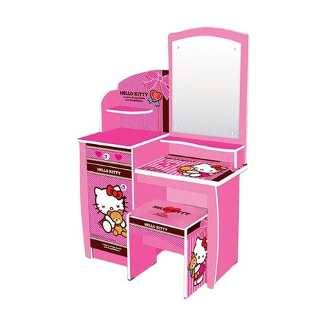 desain meja rias hello kitty jual fcenter meja rias hello kitty best friend online