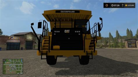 Topi Trucker G1 Ls cat 773g v1 3 farming simulator 2017 mods ls mods 17 fs 17 mods