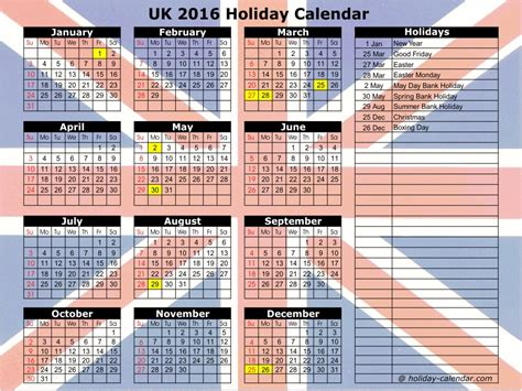easter 2016 calendar with holidays uk united kingdom 2016 2017 holiday calendar