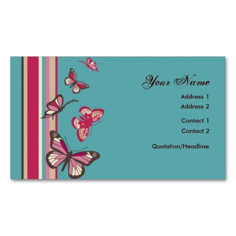 butterfly business card template butterfly profile card business card templates from zazzle