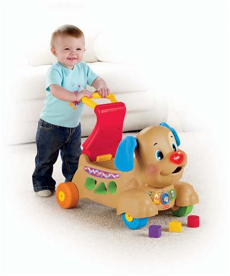 fisher price stride to ride puppy fisher price laugh learn stride to ride puppy toys