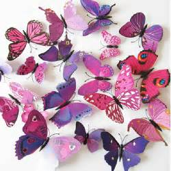 3d butterfly stickers for walls 12pcs 3d butterfly sticker decal wall mural decals home