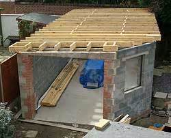 Garage Roof Construction Flat Roof Building A Flat Roof Garage