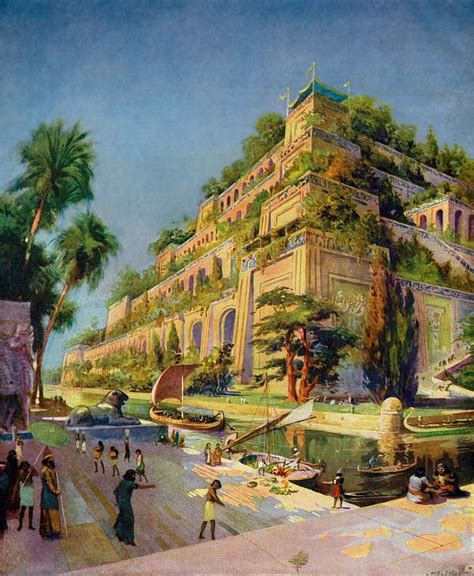 imagenes jardines babilonia jardines babilonicos re jardines colgantes de babilonia