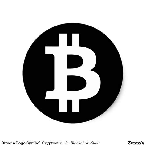 Bitcoin Logo bitcoin logo symbol cryptocurrency crypto sticker
