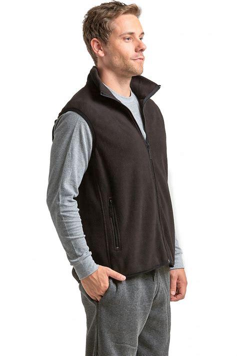 Vest Zipper polar fleece vest zip up sleeveless jacket warm winter