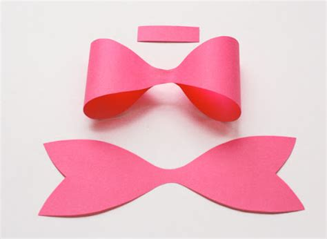 How To Make Paper Bows - how to make a paper bow how about orange