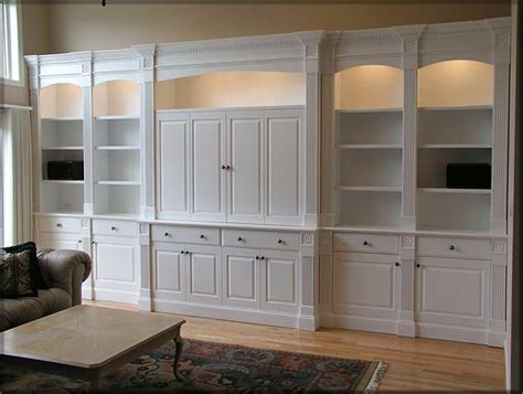 built cabinets: our custom built in cabinets are wonderful elegant space savers for