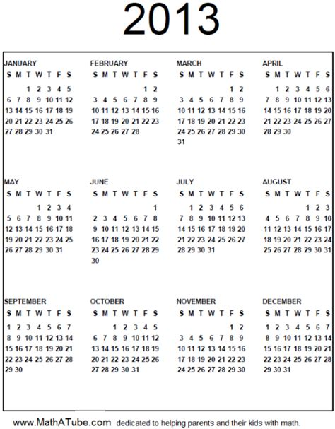printable 3 year calendar 2013 to 2015 printable yearly calendars 2013 search results