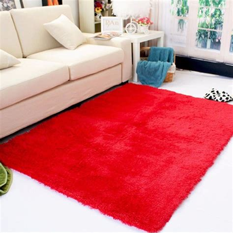 floor mats for bedrooms rectangle soft fluffy rug anti skid shaggy study room
