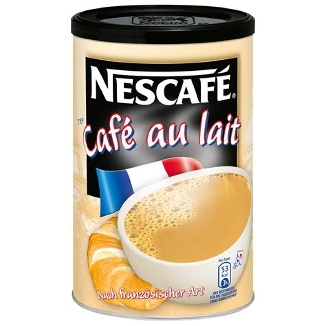 nescafe cafe au lait milchkaffee instant kaffee dose