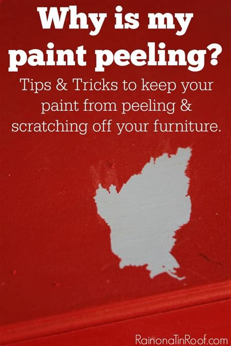 painting 101 why is my painting 101 why is my paint peeling painting furniture the o jays and peeling paint