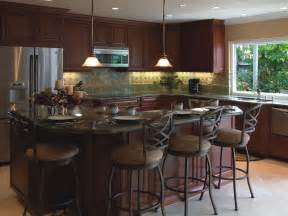 kitchen with island layout kitchen layout templates 6 different designs hgtv