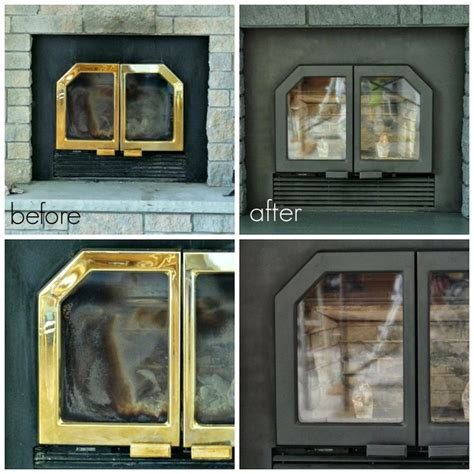 How To Remove Glass Fireplace Doors 25 Best Ideas About Fireplace Doors On