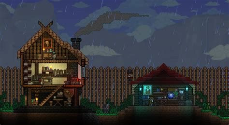 with house building reddit a blacksmith s lodge terraria